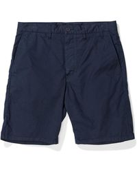 Norse Projects Aros shorts light twill - Azul