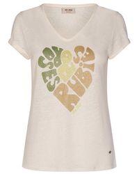 Mos Mosh Rubies T-shirt - Neutre
