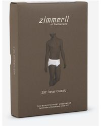 Zimmerli Panties - Blanc