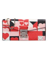 MCM Patricia Wallet On Chain - Roze