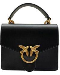 Pinko Love Mini Top Handle Simply Bag - Zwart