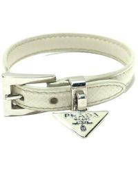 Prada Bracelet d'occasion - Blanc