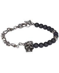 Alexander McQueen Bracelet Bijoux - Zwart