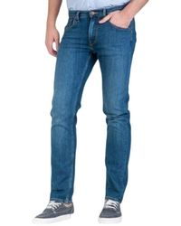 Lee Jeans Straight Jeans - Blauw