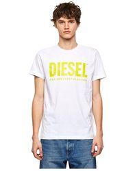 DIESEL 00Sxed 0Aaxj T-Diego T-Shirt - Bianco