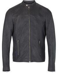 Goosecraft Sheffield Biker jacket - 101912028 - Gris