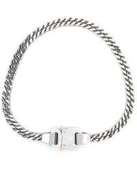1017 ALYX 9SM Cubix Chain Necklace - Gris