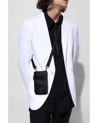 Versace Pouch on strap Negro