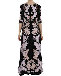 Dolce & Gabbana Gown Dress - Zwart