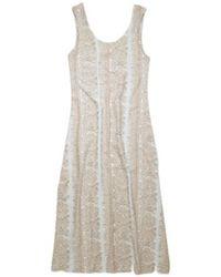 Acne Studios Ellena Allover Jacquard Dresses - Blauw