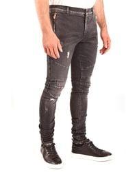 Balmain - Jeans Negro - Lyst