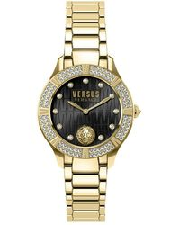 Versus Canton Road Bracelet Watch - Gelb