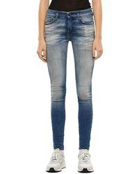 DIESEL Slandy 009jj Jeans - Blauw