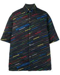 Balenciaga - Shirt - Lyst