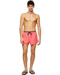 DIESEL 00s0l6 0adag - Bmbx-reef Swimming Trunks - Roze