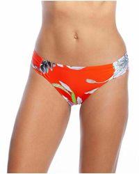 Trina Turk Bikini Bottom Shangri Floral - Oranje