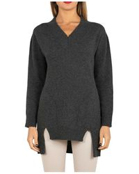 Tabaroni Cashmere Sweater - Gris