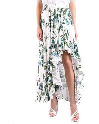 Blumarine Skirt Blanco