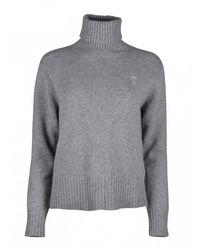 AMI Cashmere Sweater - Grijs
