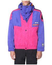 MSGM Hooded Jacket Rosa