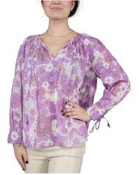Antik Batik Loretta Long Shirt - Paars