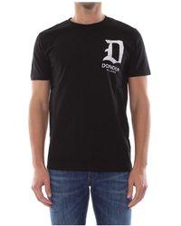 Dondup Us198 Jf0234u T-shirt - Zwart