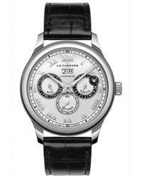 Chopard L.u.c Perpetual Twin Watch - Noir