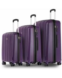 Conwood Pacifica luggage Superset S+l Crown Jewel - Paars