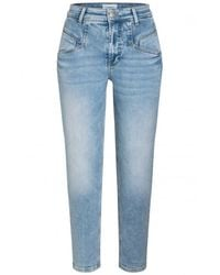 Cambio Kacie Tapered Jeans - Blauw