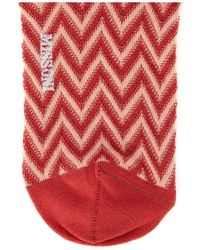 Missoni Socks Rojo