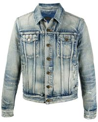 Saint Laurent Jacket - Blauw