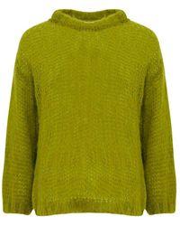 Noella Delta Solid Sweater 12136004 - Groen