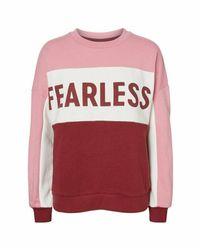 Noisy May Nmsoulmate Sweater - Roze
