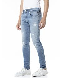 Replay Anbass Jeans - Blauw