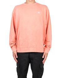Obey Fade Pigment Crew Sweatshirt - Roze