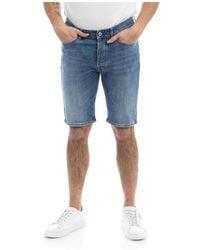 Roy Rogers Bermuda shorts - Azul
