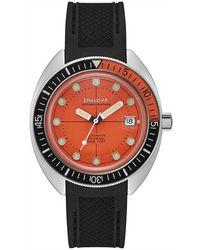 Bulova Oceanographer watch - Orange