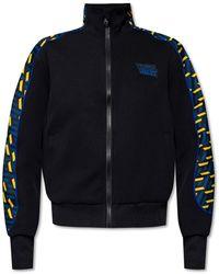 Versace Sweatshirt With Logo - Zwart