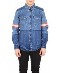 Calvin Klein Denim Shirt - Blauw