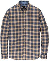 Vanguard Long Sleeve Shirt - Blauw