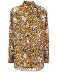 Burberry Shirt - Oranje