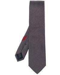 Ferragamo Silk Tie - Blauw