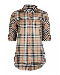 Burberry Luka Overhemd - Bruin