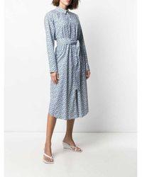 Paul Smith - Dress Azul - Lyst