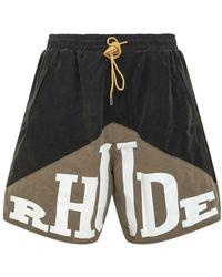 Rhude Yachting Shorts - Zwart