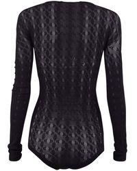 1017 ALYX 9SM Sheer bodysuit Negro
