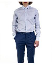 Xacus Camisa - Bleu