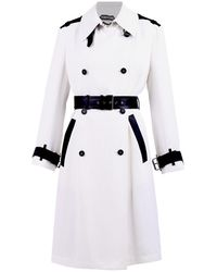 Tom Ford Trench Coat - Wit