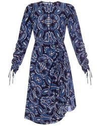 Etro Drawstring dress - Blu