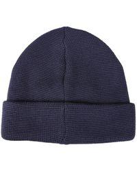 MA.STRUM Milano Knit HAT - Bleu
